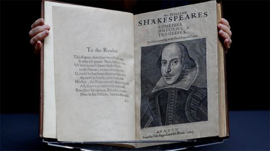 William Shakespeare's First Folio Sells For Approx. $10M