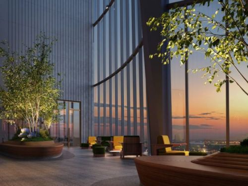 Fifteen Hudson Yards Unveils Skytop Resident Amenities