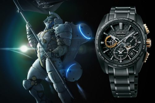 Seiko's Out of This World Astron Inspired by Kojima Production's Mascot