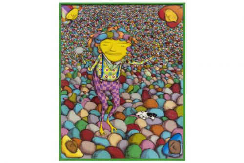 OSGEMEOS Bring Colorful Surrealist Works to Frieze London 2018