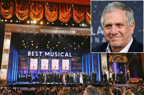 What will happen to the Tonys if Les Moonves leaves CBS