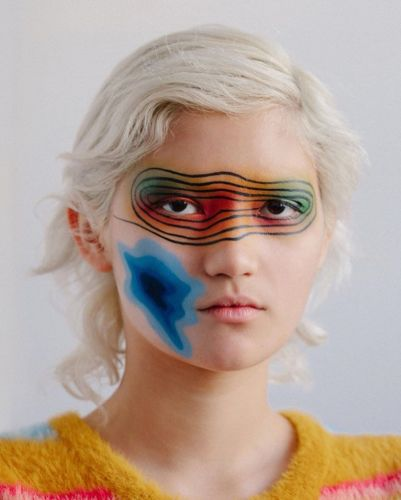 Madrona Redhawk brings calculated chaos to her surreal beauty looks
