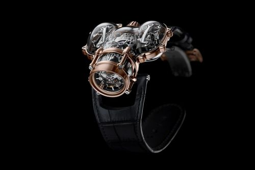MB&F HM9 Sapphire Vision Offers a Distinctive Silhouette