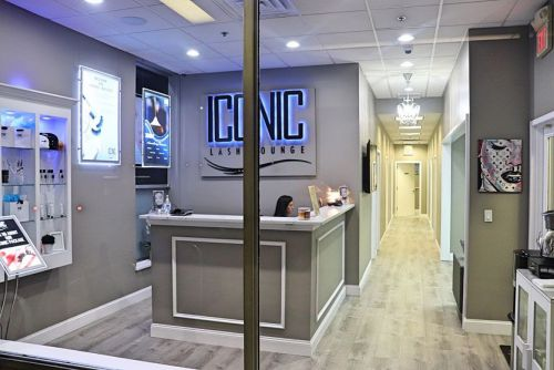 The Modern and Upscale Iconic Lash Lounge in Yorktown Heights, New York