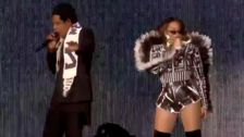 Beyoncé Shows Off Her Rap Skills Onstage With Jay-Z, And The Crowd Loses It