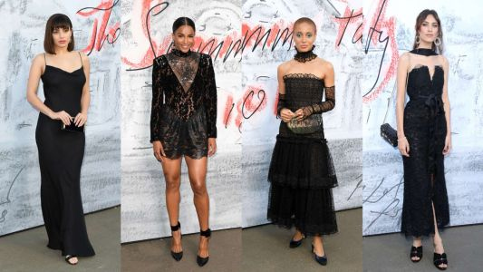 Little Black Dresses Reigned Supreme at the 2018 Serpentine Summer Party
