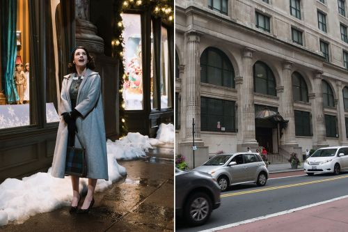 How 'Marvelous Mrs. Maisel' brought NYC back to the 1950s