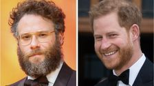 Seth Rogen Says It Was 'Weird' Watching 'Lion King' With Prince Harry And Meghan Markle