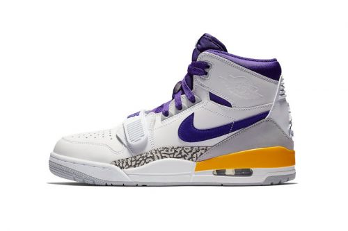 """Jordan Legacy 312 """"Lakers"""" Gets Ready for Showtime Next Month"""