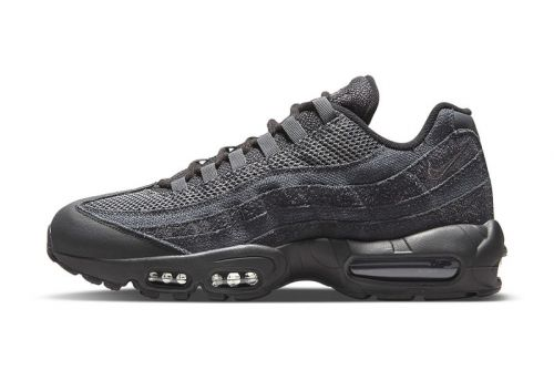 "Nike's Air Max 95 Receives Textured ""Iron Grey"" Colorway"