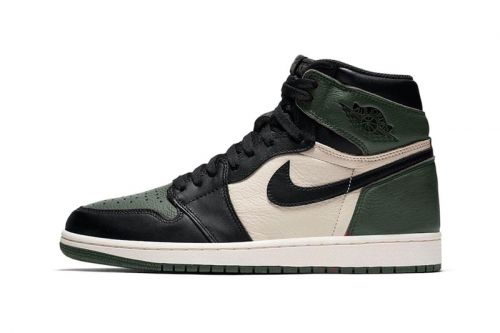 "Jordan Brand Gives the Air Jordan 1 a ""Pine Green"" Makeover"