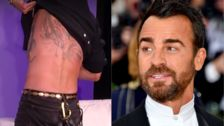 Sorry, Ben Affleck, Make Way For Justin Theroux's Giant Rat Tattoo