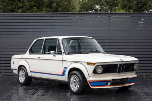 An Original BMW 2002 Turbo From 1975 Is Now Up for Grabs