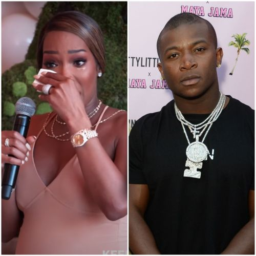 Malika Haqq Cries That She Doesn't Want to Be 'Doing It Alone' With Baby Ace Amid O.T. Genasis Split