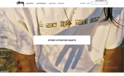 Stüssy partners with Dover Street Market for tshirt retrospective