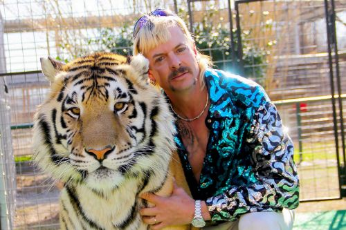 Zoo of former 'Tiger King' Joe Exotic vandalized with graffiti, rotting meat