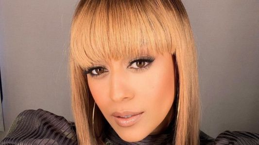 Tia Mowry Rocks The Perfect Blonde Bob For Fall