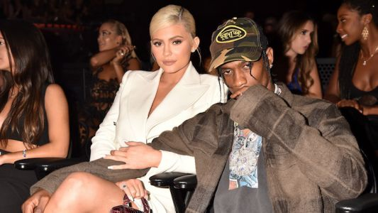 WTF? Kylie Jenner Legit Looked Miserable Watching Travis Scott Perform at the VMAs