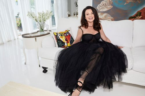 Fran Drescher on her new Lifetime holiday movie and sunny Malibu home