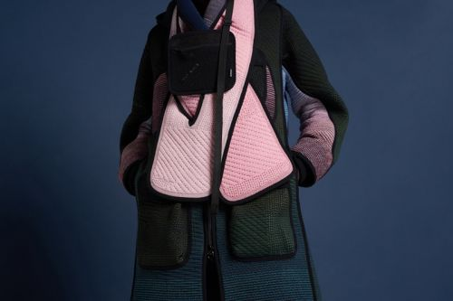 BYBORRE Layers 3D Knitwork for Fall/Winter 2018