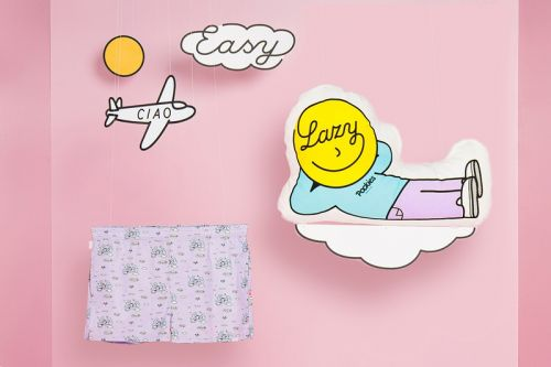 """Pieter Ceizer Teams with Pockies for Carefree """"The Lazy Collection"""" Loungewear"""