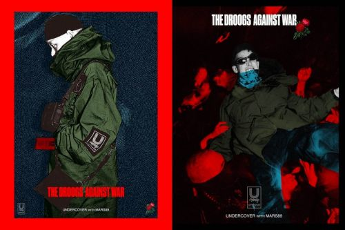 "Mars89 & UNDERCOVER Reveal ""The Droogs Against War"" Capsule"