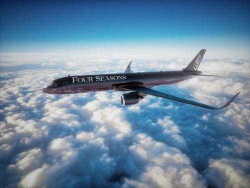 Four Seasons's New Private Jet Launches in 2021