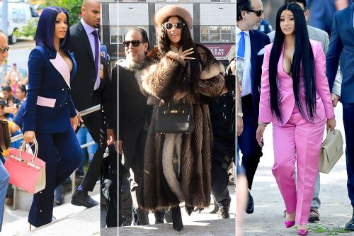 Cardi B isn't the only star guilty of red-carpet courtroom style
