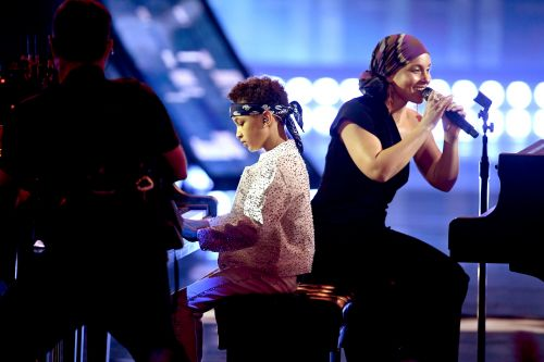 Alicia Keys Brings Son Egypt, 6, on Stage for iHeartRadio Awards Performance and It's Too Sweet!