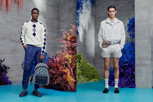 Dior's Resort 2021 Menswear Collection Is a Bouquet of Flowers