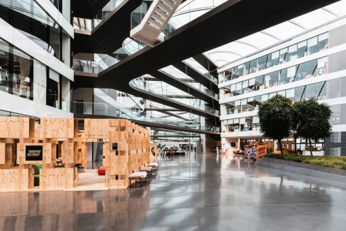 Take a Look Inside adidas' Sprawling German Headquarters