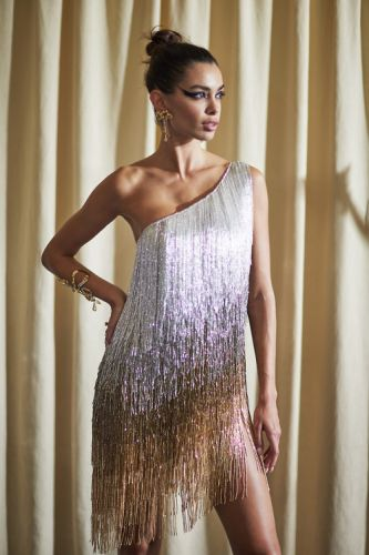 She flows in mysterious ways - GEORGES HOBEIKA Couture Autumn