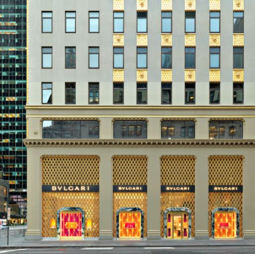 Bulgari Opens New Flagship Store in New York
