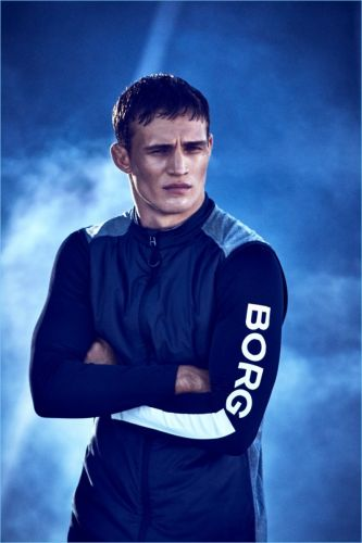 Julian Schneyder is a Sporty Vision for Björn Borg Fall '17 Campaign