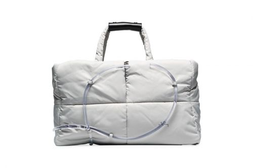A-COLD-WALL* Upgrades Classic Tote Bag With Transparent Pipe Embellishment