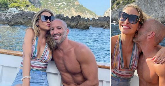 Chrishell Stause Reveals She's Dating 'Selling Sunset' Costar & Boss Jason Oppenheim With PDA-Filled Pics