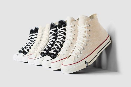 KITH Classics Delivers Subtly-Branded Converse Chuck Taylor All-Stars