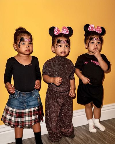 True Thompson, Chicago West and Stormi Webster Hands-Down Make the Cutest Minnie Mouses