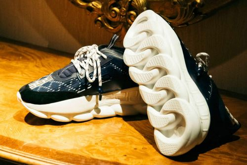 """UNITED ARROWS & SONS Taps Versace for Exclusive Chain Reaction """"Sashiko"""""""