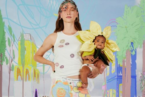 "Despite Turmoil, Collina Strada SS21 Posits That ""Change Is Cute"""