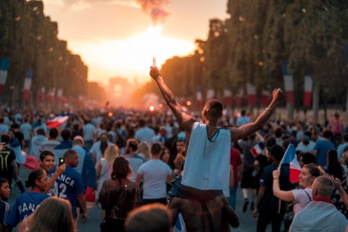 France Fans Shut Down Paris After 2018 FIFA World Cup Win