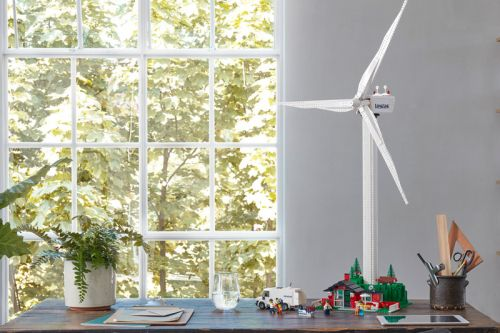 LEGO Has Launched a Fully Functioning Wind Turbine Set