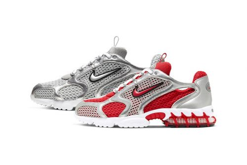 """Nike's Air Zoom Spiridon Caged 2 in """"Track Red"""" and """"Smoke Grey"""" Get a Closer Look"""