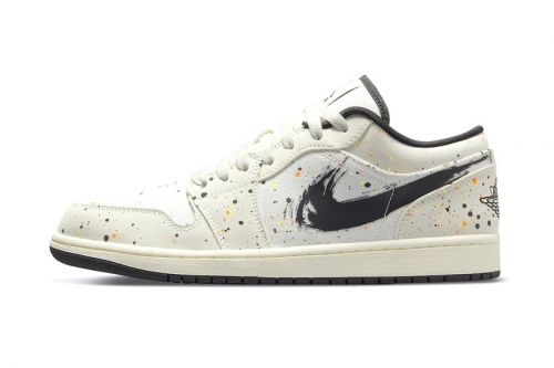"Air Jordan 1 Low Receives a Vibrant ""Paint Splatter"" Makeover"