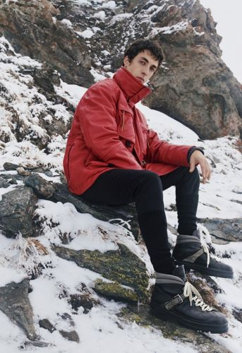 Baptiste Zysman Travels to the Swiss Alps for Bally Fall '19 Campaign