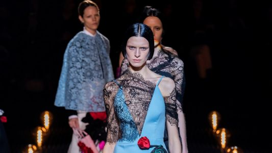 Prada's Idea of Romance is Dark, Twisted and Sinister for Fall 2019
