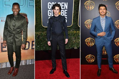 Red carpet fashion is no longer just for the ladies