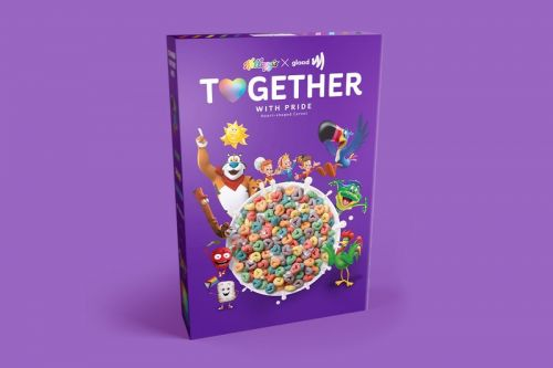 """Kellogg's and GLAAD Hatch """"Together With Pride"""" Cereal"""