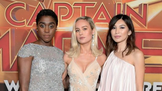 The Fantastic 'Captain Marvel' Press Tour Brought Us Heroically Fun Fashion