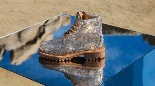 These Swarovski Crystal Timberlands Are Jimmy Choo Approved ✓